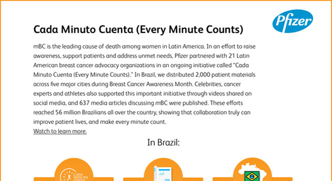 Cada Minuto Cuenta (Every Minute Counts)